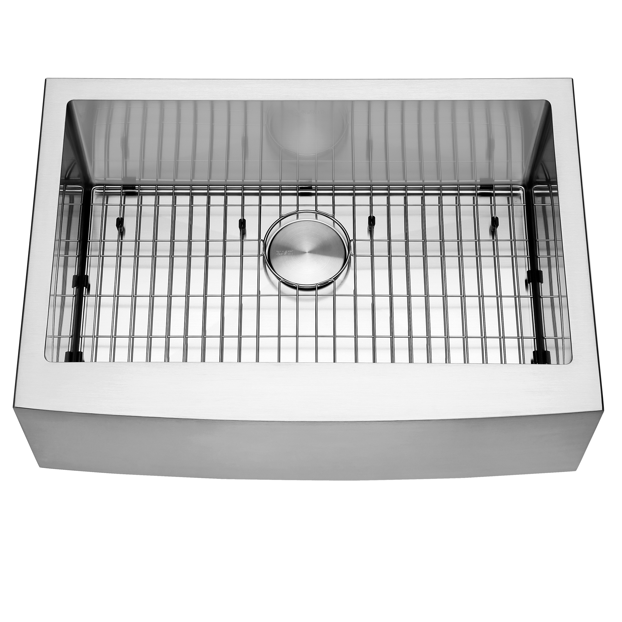 30 Inch Farmhouse Apron Front Kitchen Sink Stainless Steel Single Bowl Ruvati Usa