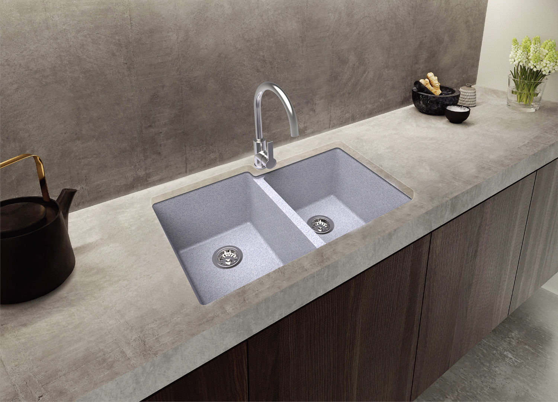 Granite Composite Double Bowl